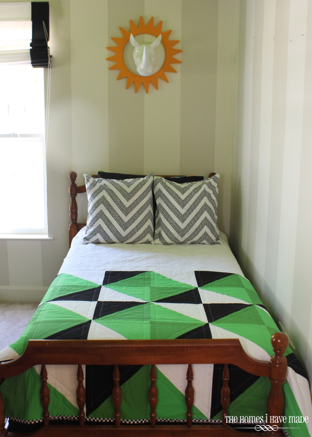 Henry's Green Quilt-012