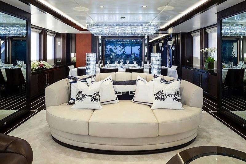 Дизайн салона яхты Ann G