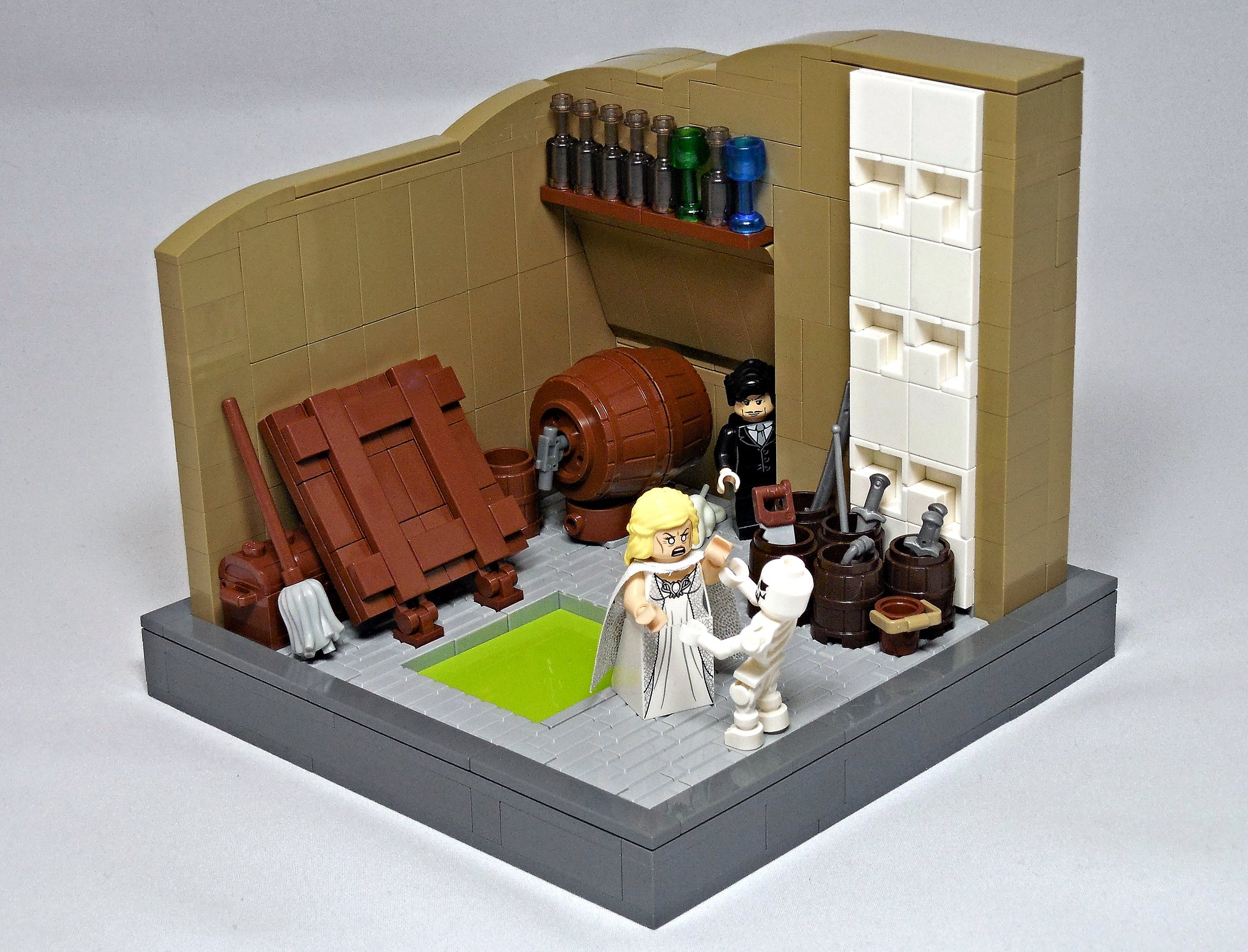 LEGO® MOC by Vitreolum: House on Haunted Hill