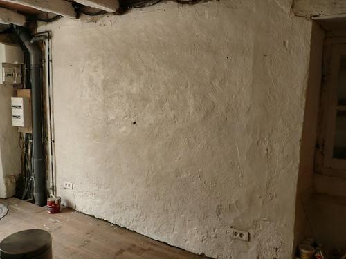 Wall by door