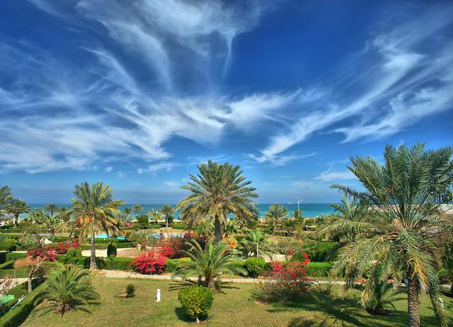 Seaside Damoon, Kish Island, Persian Gulf, Iran (Persia)