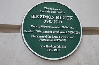 Green Plaque 的形象. green plaque piccadilly 2011 deputymayor simonmilton