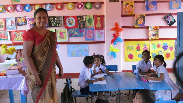 Visit to Sri Rahula Vidyalaya School, Panadura, Sri Lanka