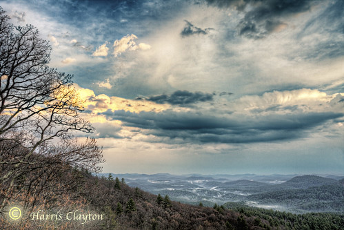 sunset mist beautiful fog clouds contrast clayton highcontrast valley harris hdr ncnorthcarolina mistinthevalley harrisclayton