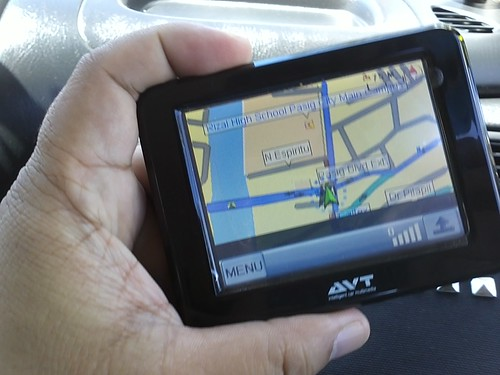 Using my avt gps by popazrael