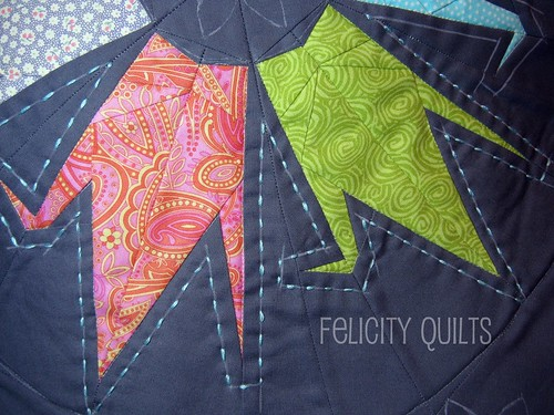 hand quilting cranes