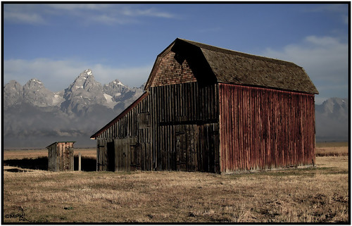 Mormon Row- Teton National Park- Wyoming