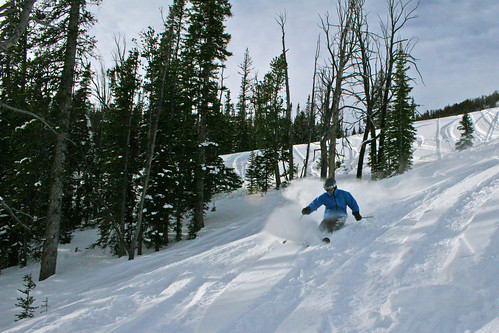 Challenger Lift  Skiing