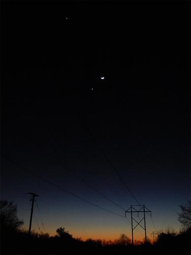 moon venus mercury astrophotography jupiter 2012