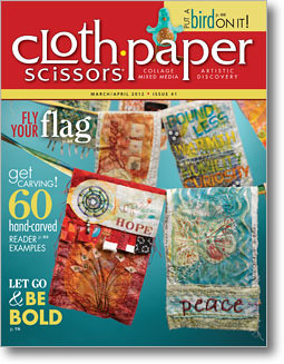 Cloth Paper Scissors march april 2012