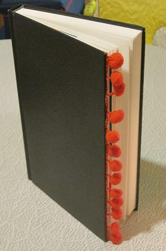 Pom Pom Book DIY standing