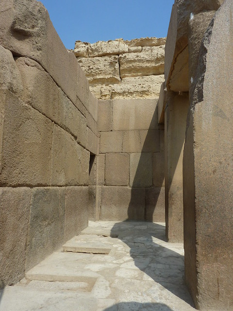 Pramids Of Giza >> Inside the Khafre Valley Temple | Giza pramids 2011. The ins… | Flickr - Photo Sharing!