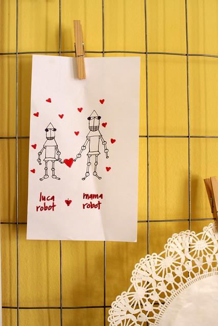 a valentine-y drawing