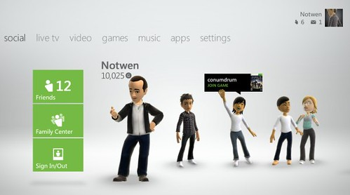 Xbox Live Featured in Windows 8 Consumer Preview