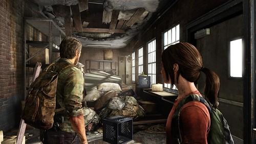 Clogged hallway - The Last Of Us
