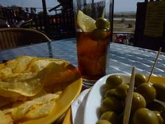 aperitivo en la playa