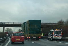Accident sur l'A31