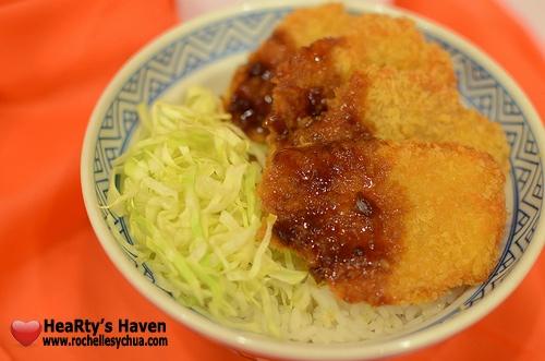 Yoshinoya Pork Tonkatsu