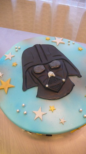 Darth Vader Birthday Cake by CAKE Amsterdam - Cakes by ZOBOT