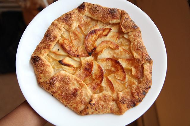 Easy Apple Galette Recipe - Dessert A Day 3 - Vegan | Flickr - Photo ...