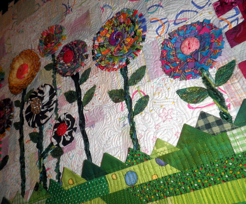 Diane Lapacek's Quilt for the The Mysterious Letter Quilt Challenge