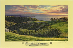 The 3rd Hole, South Course, Torrey Pines Golf Course, San Diego, CA