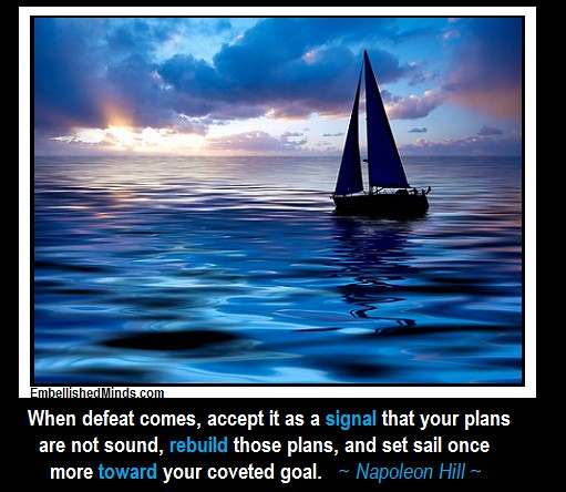 Inspirational Quotes Sailing: Sailing Quote By Napoleon Hill