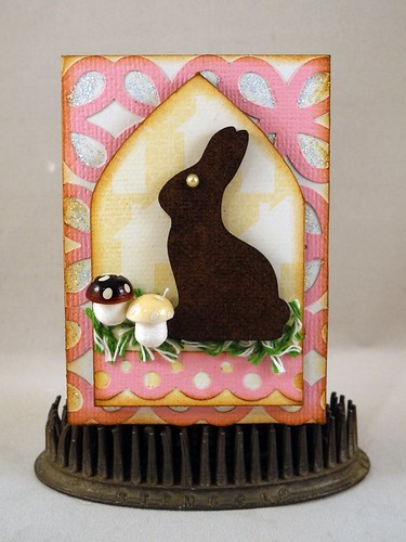 Chocolate Bunny ATC
