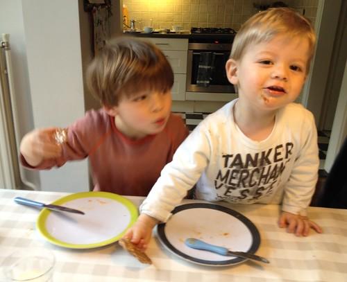 Samen ontbijten