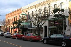 Victoria B.C. Chinatown Street