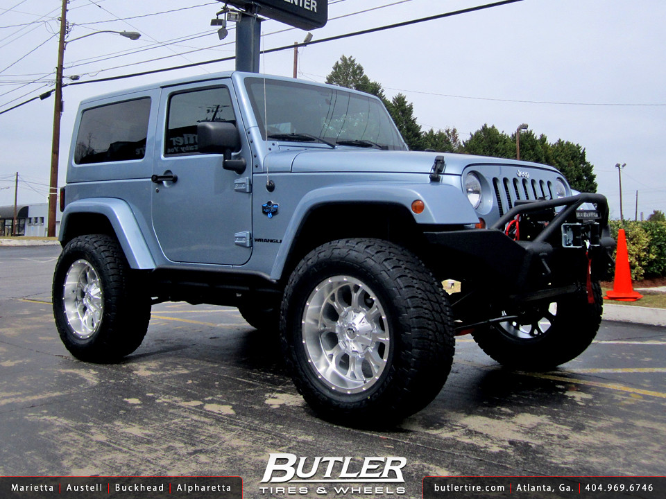 Jeep Wrangler Arctic Edition With 20in Fuel Krank Wheels