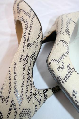vintage snakeskin heels