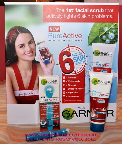 Garnier Pure Active line