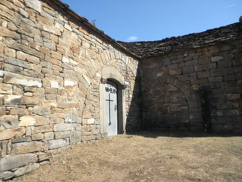 Entrada a la ermita de San Blas