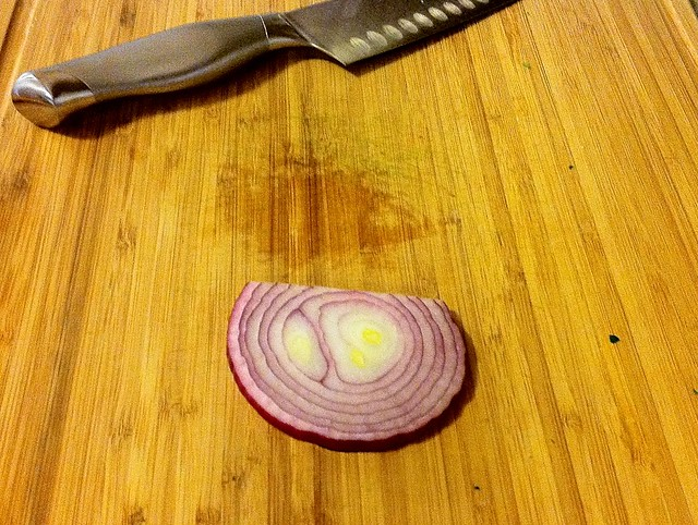 Slice of Red Onion