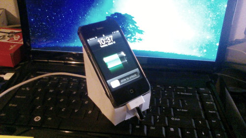 Paper Eco Stand for the iPhone