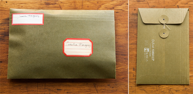 DIY Button & String Envelope