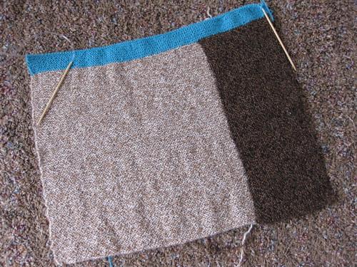 alpaca blanket WIP
