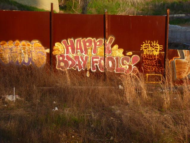 HAPPY BDAY FOOLS!