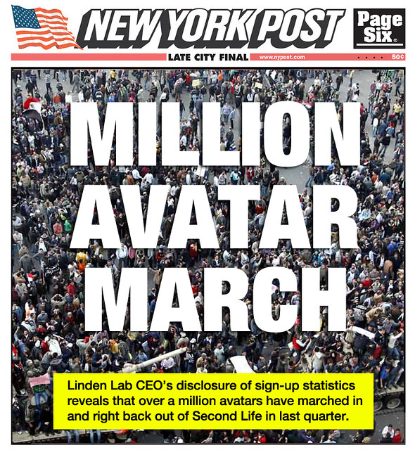 million avatar march
