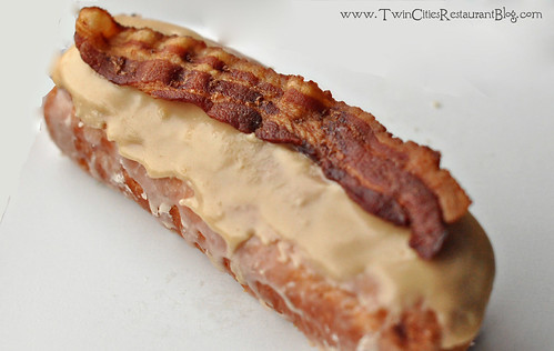 Maple Bar with Bacon at Mojo Monkey Donuts ~ St Paul, MN