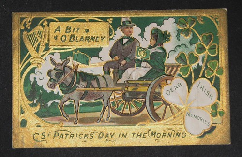 vintage st patricks day postcards 001