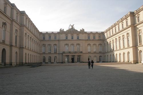 Schloss Herrenchiemsee - Hofseite