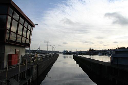Ballard Locks, on a nice day