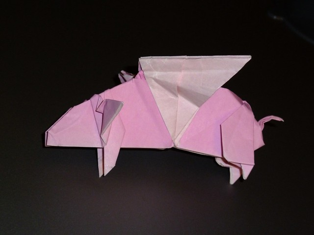origami flying pig 28 images 1000 images about folding