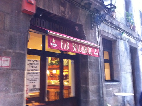 BAR RESTAURANTE BOLUMBURU en BILBAO by LaVisitaComunicacion