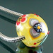 Charm bead : 3 petal 2