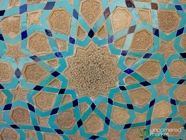 Persian Design and Tiles - Yazd, Iran