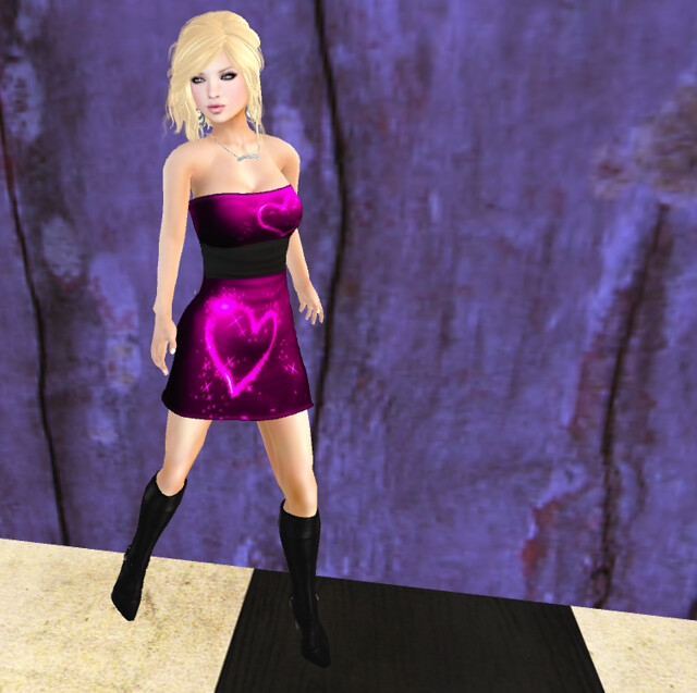 Envy Designs Luna Dress Mesh