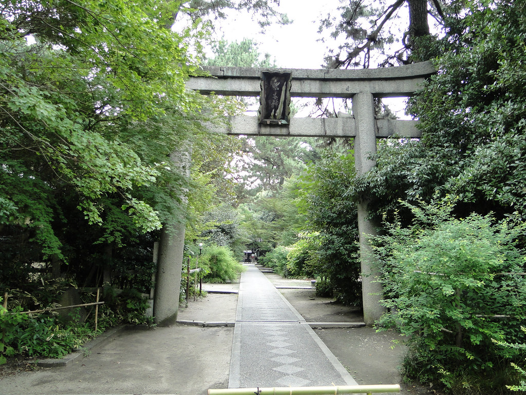 Nashinoki Shrine in Kyoto, 2010